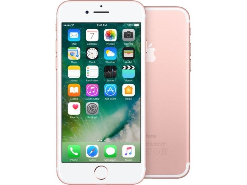 Smartphone Apple iPhone 7 128GB, růžově zlatá
