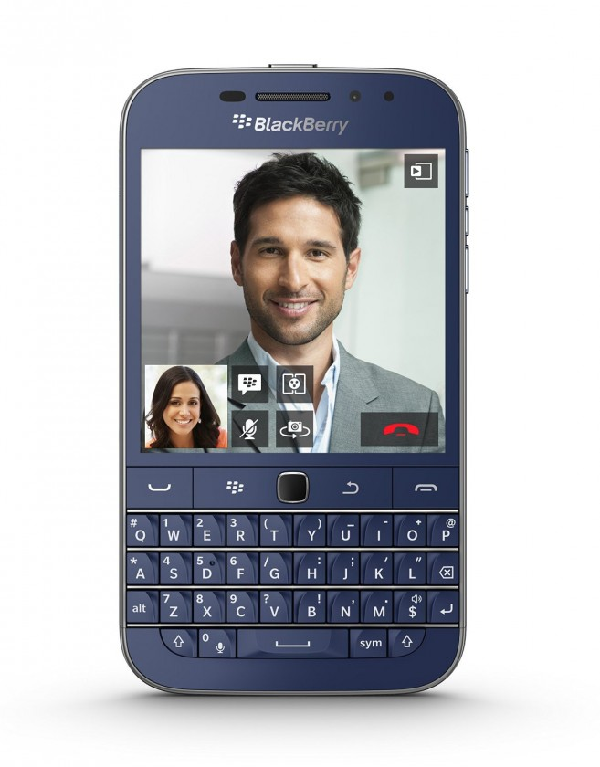 Smartphone BlackBerry Classic, modrý