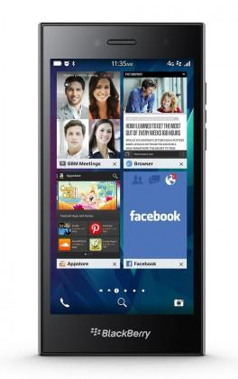 Smartphone BlackBerry Leap, šedý