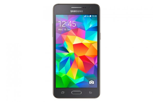 Smartphone GALAXY GRAND Prime (sivá, 8 GB)