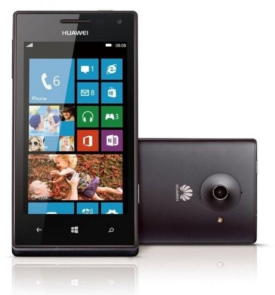 Smartphone  HUAWEI Ascend W1,černá