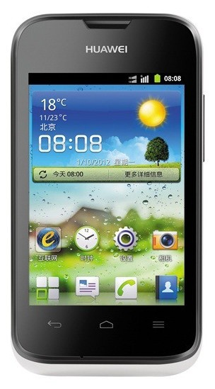 Smartphone HUAWEI Ascend Y210 White