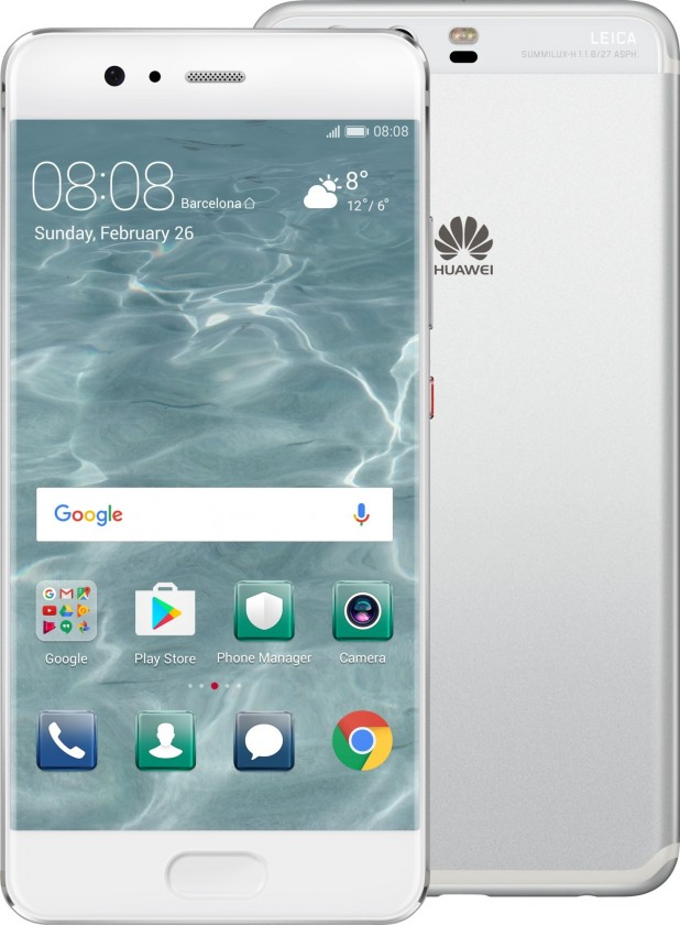 Smartphone Huawei P10 DS, strieborna