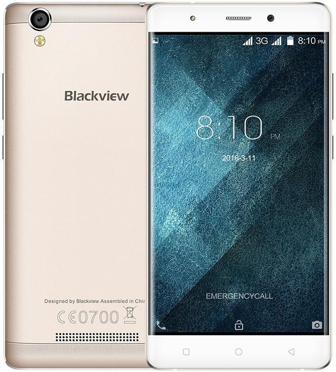 Smartphone iGET Blackview A8, zlatá