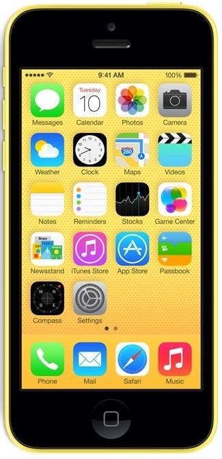 Smartphone iPhone 5c 16GB Yellow
