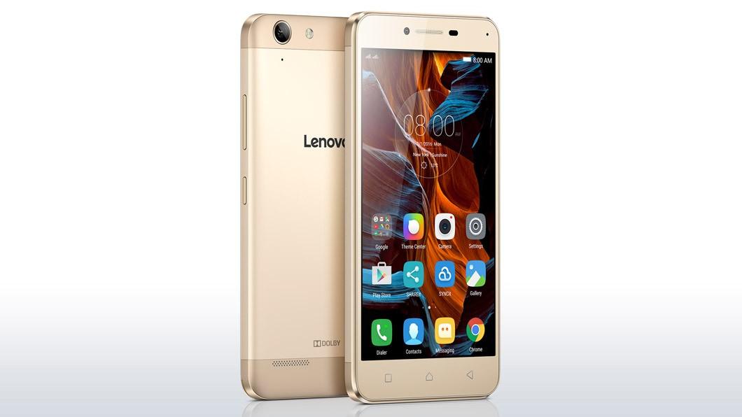 Smartphone Lenovo Vibe K5 Plus zlatá