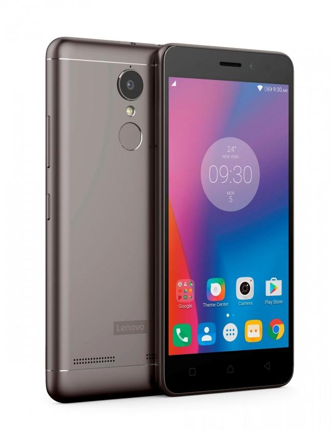 Smartphone Lenovo Vibe K6 Dual SIM, sivá