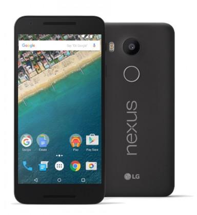 Smartphone LG H791 Nexus 5X 32 GB, čierna