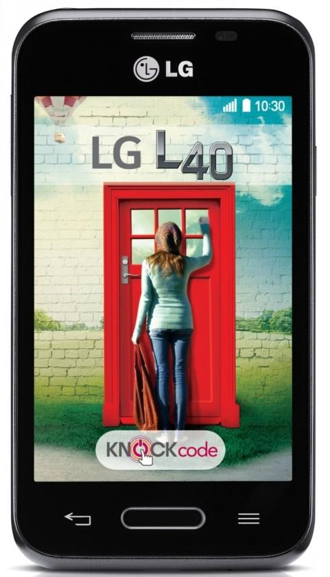 Smartphone LG L40 (D160) Black