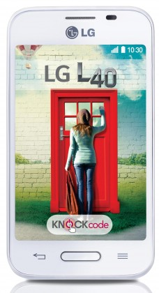 Smartphone LG L40 (D160) White