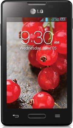 Smartphone  LG Optimus L4 II (E440) black
