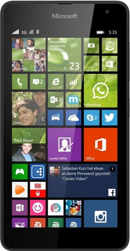 Smartphone Microsoft Lumia 535 Black ROZBALENO