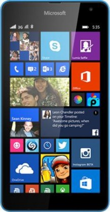 Smartphone Microsoft Lumia 535 Cyan