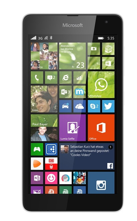 Smartphone Microsoft Lumia 535 White