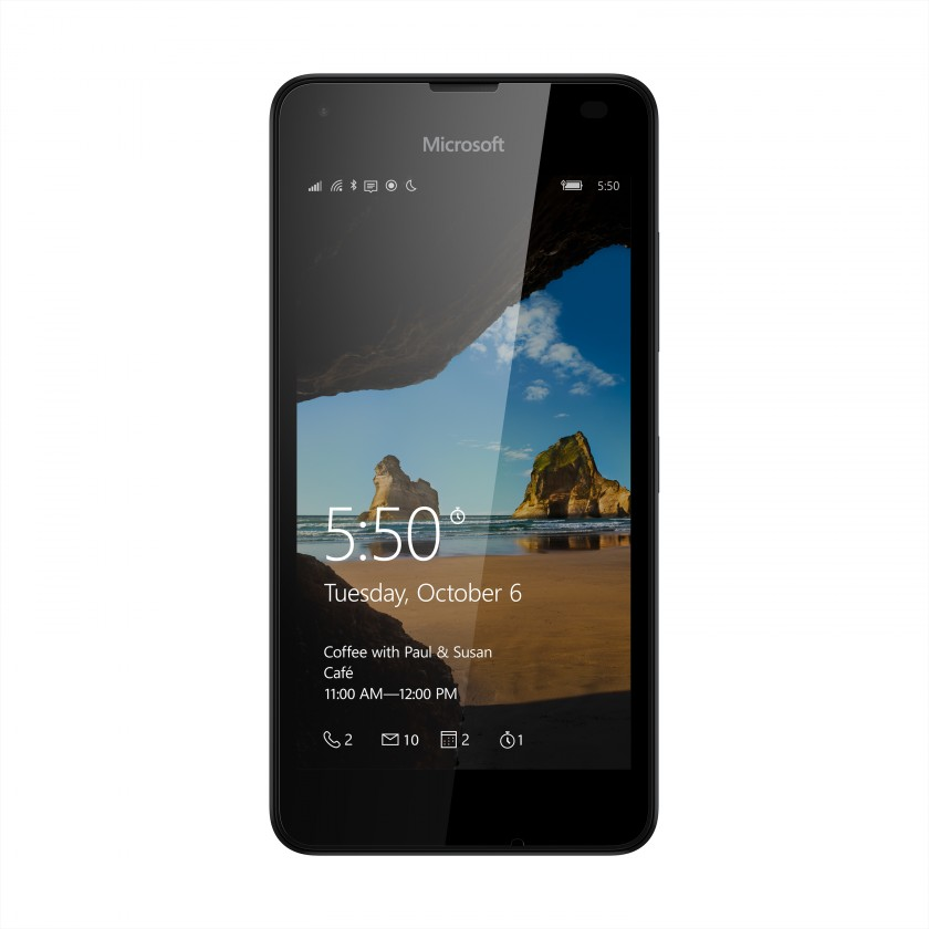 Smartphone Microsoft Lumia 550 Black