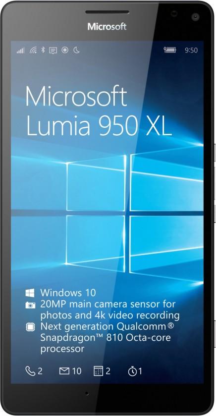Smartphone Microsoft Lumia 950 XL, biela