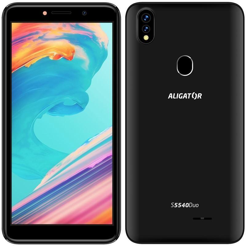 Smartphone Mobilný telefón Aligator S5540 2GB/32GB, čierna