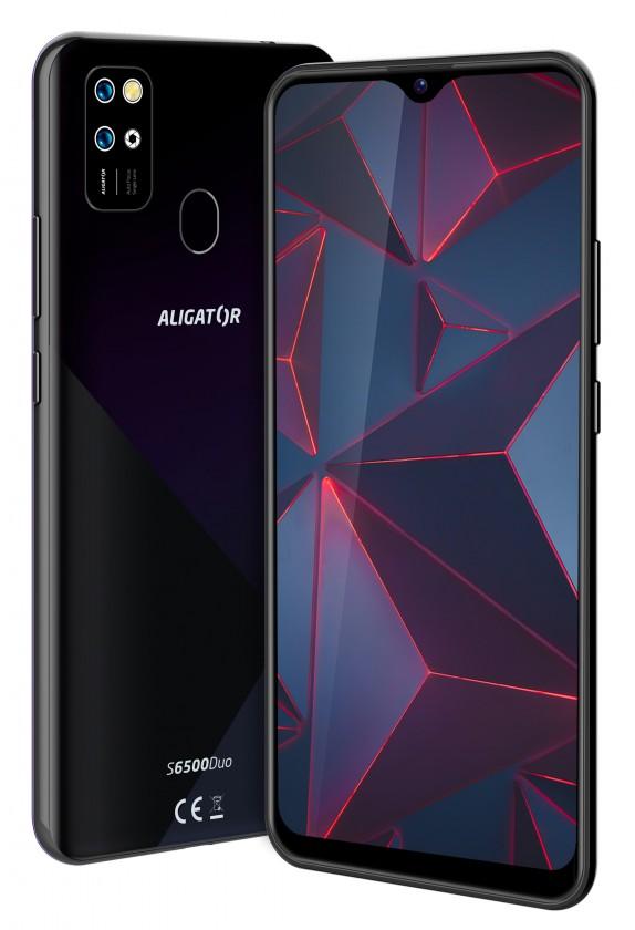 Smartphone Mobilný telefón Aligator S6500 2GB/32GB, čierna