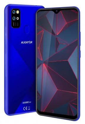 Smartphone Mobilný telefón Aligator S6500 2GB/32GB, modrá