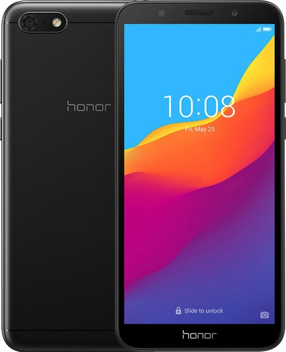 Smartphone Mobilný telefón Honor 7S 2GB/16GB, čierna