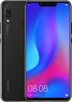 Smartphone Mobilný telefón Huawei NOVA 3 4GB/128GB, čierna