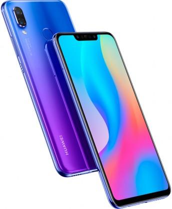 Smartphone Mobilný telefón Huawei NOVA 3 4GB/128GB, fialová