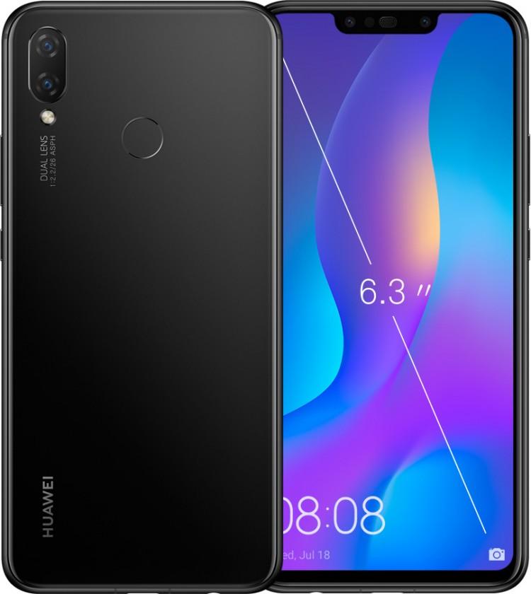 Smartphone Mobilný telefón Huawei NOVA 3i 4GB/128GB, čierna