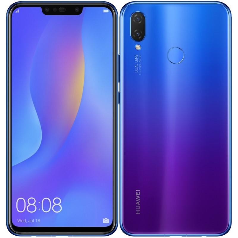Smartphone Mobilný telefón Huawei NOVA 3i 4GB/128GB, fialová