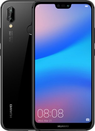Smartphone Mobilný telefón Huawei P20 LITE DS 4GB/64GB, čierna
