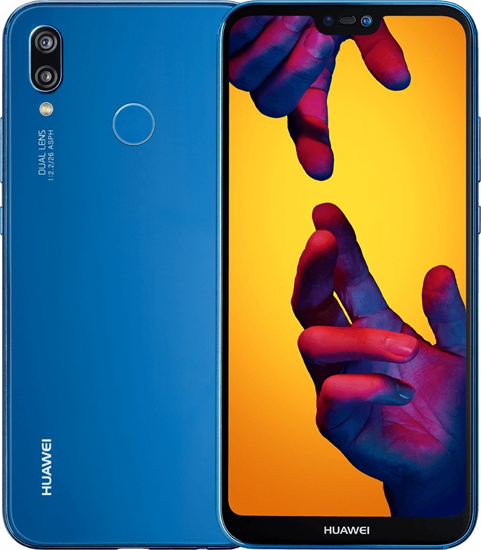 Smartphone Mobilný telefón Huawei P20 LITE DS 4GB/64GB, modrá