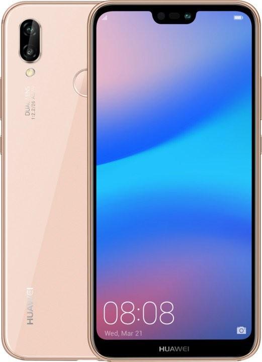 Smartphone Mobilný telefón Huawei P20 LITE DS 4GB/64GB, ružová