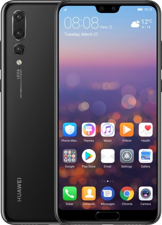 Smartphone Mobilný telefón Huawei P20 PRO, čierna