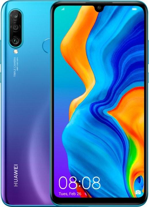 Smartphone Mobilný telefón Huawei P30 LITE DS 4GB/128GB, modrá