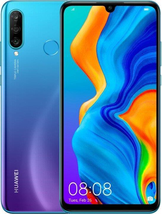 Smartphone Mobilný telefón Huawei P30 LITE DS 4GB/64GB, modrá