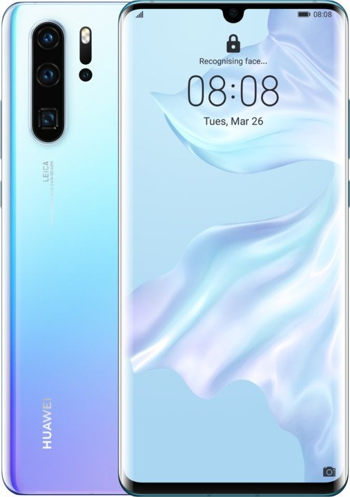 Smartphone Mobilný telefón Huawei P30 PRO DS 6GB/128GB, svetlo modrá