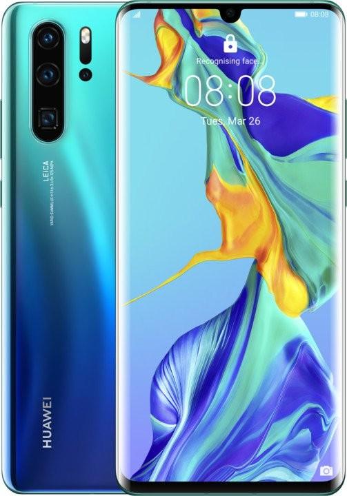Smartphone Mobilný telefón Huawei P30 PRO DS 6GB/128GB, tmavo modrá