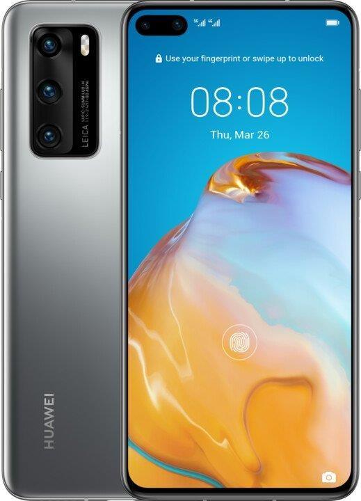 Smartphone Mobilný telefón Huawei P40 8GB/128GB Silver