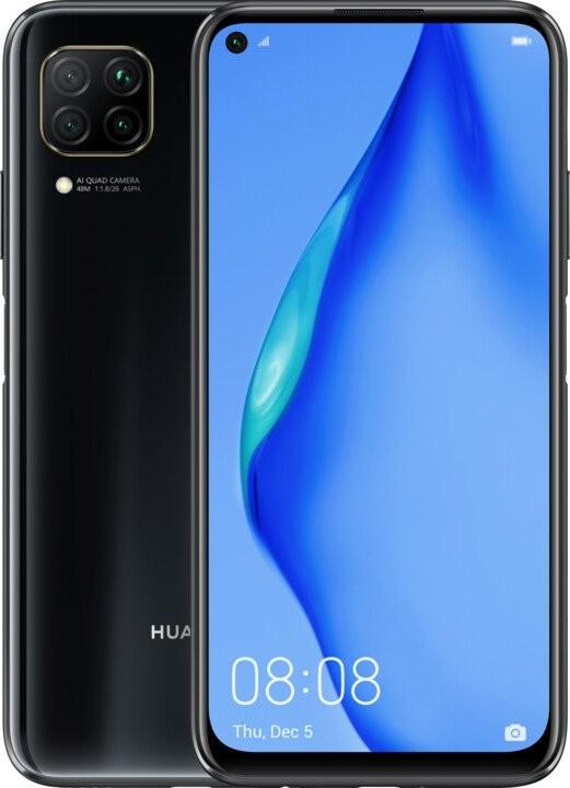 Smartphone Mobilný telefón Huawei P40 Lite 6GB/128GB, čierna POUŽITÉ, NEOPOT
