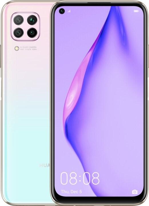 Smartphone Mobilný telefón Huawei P40 Lite 6GB/128GB, ružová POUŽITÉ, NEOPOT