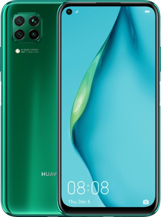 Smartphone Mobilný telefón Huawei P40 Lite 6GB/64GB, zelená