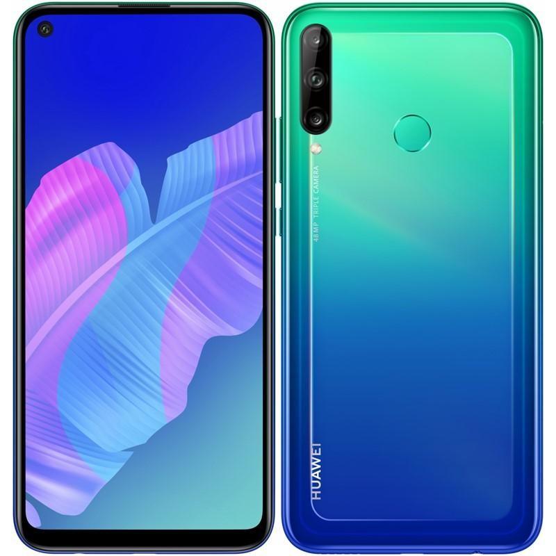 Smartphone Mobilný telefón Huawei P40 Lite E 4GB/64GB, modrá