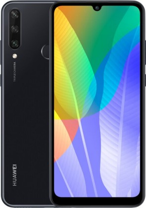 Smartphone Mobilný telefón Huawei Y6P 3GB/64GB, čierna
