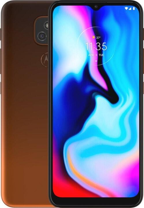 Smartphone Mobilný telefón Motorola E7 Plus 4GB/64GB, oranžová