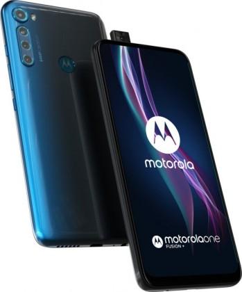 Smartphone Mobilný telefón Motorola One Fusion + 6GB/128GB, modrá