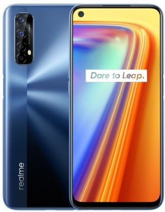 Smartphone Mobilný telefón Realme 7 6GB/64GB, modrá