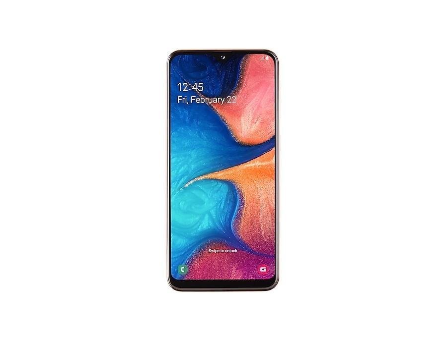 Smartphone Mobilný telefón Samsung Galaxy A20e 3GB/32GB, oranžová