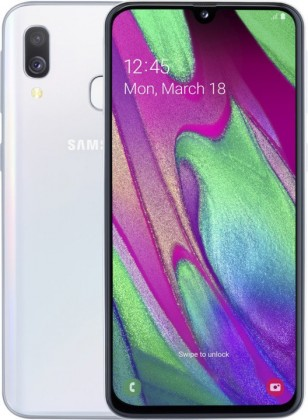 Smartphone Mobilný telefón Samsung Galaxy A40 4GB/64GB, biela