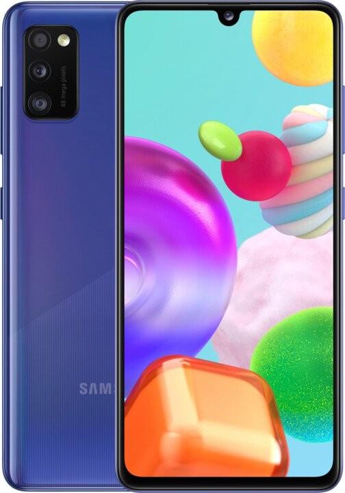 Smartphone Mobilný telefón Samsung Galaxy A41 4GB/64GB, modrá