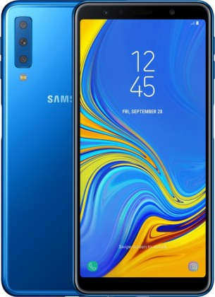 Smartphone Mobilný telefón Samsung Galaxy A7 4GB/64GB, modrá