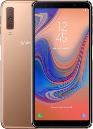 Smartphone Mobilný telefón Samsung Galaxy A7 4GB/64GB, zlatá